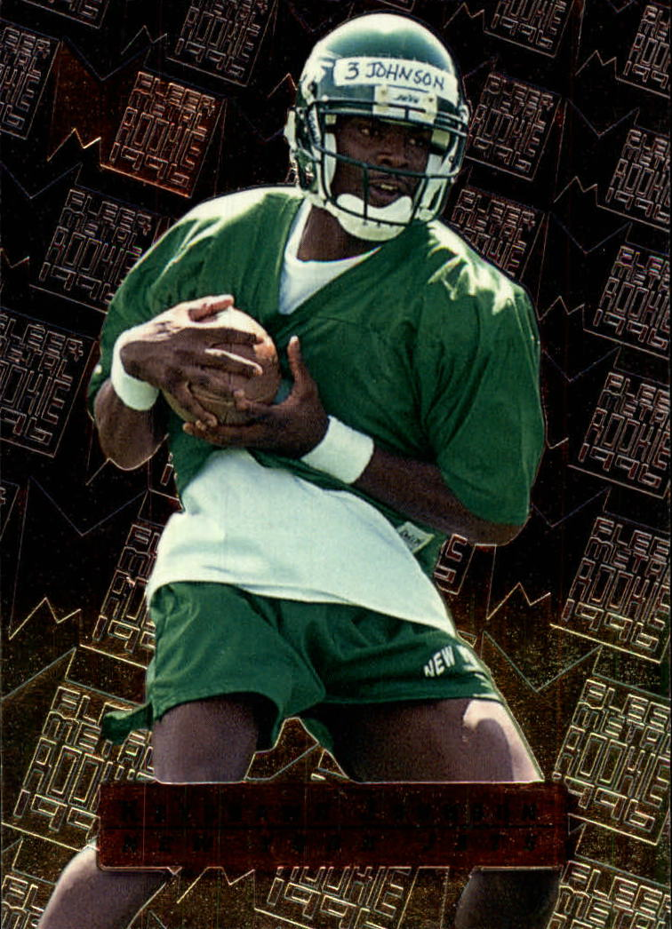 1996 Metal #136 Keyshawn Johnson RC