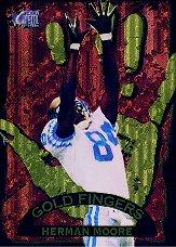 1996 Metal Goldfingers #4 Herman Moore