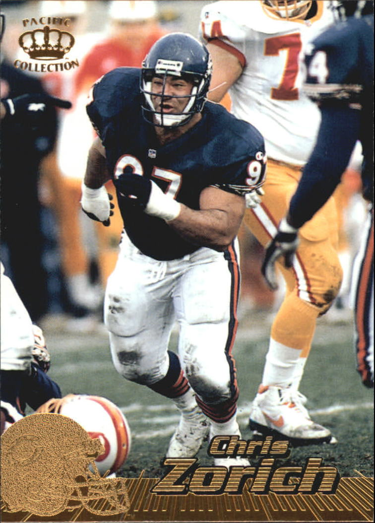 1996 Pacific #80 Chris Zorich