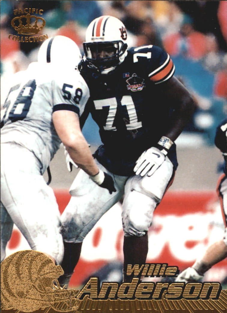 1996 Pacific #90 Willie Anderson