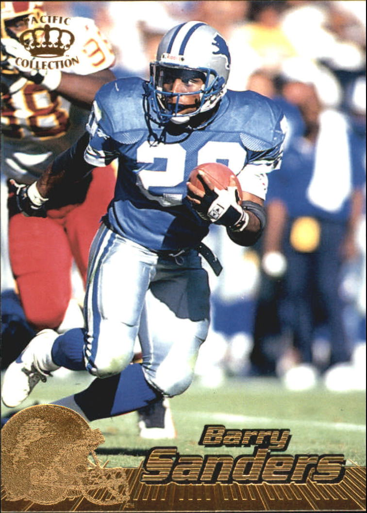1996 Pacific #140 Barry Sanders