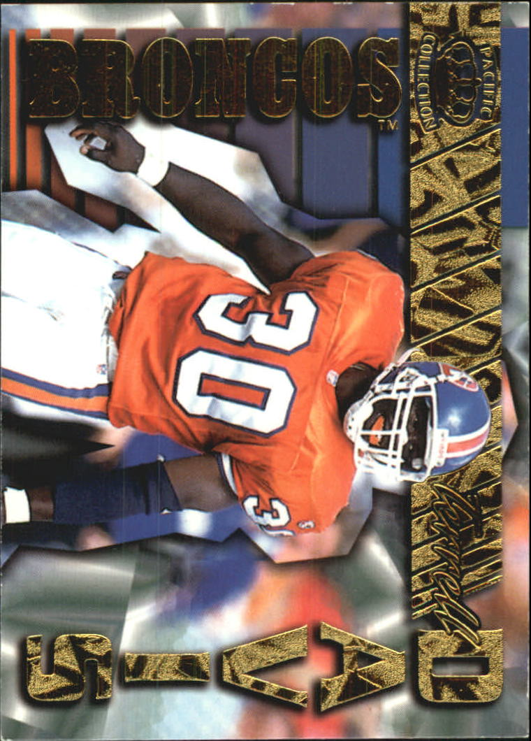 1996 Pacific Gems of the Crown #GC10 Terrell Davis
