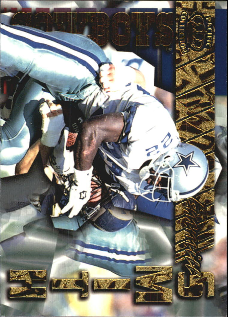 1996 Pacific Gems of the Crown #GC17 Emmitt Smith