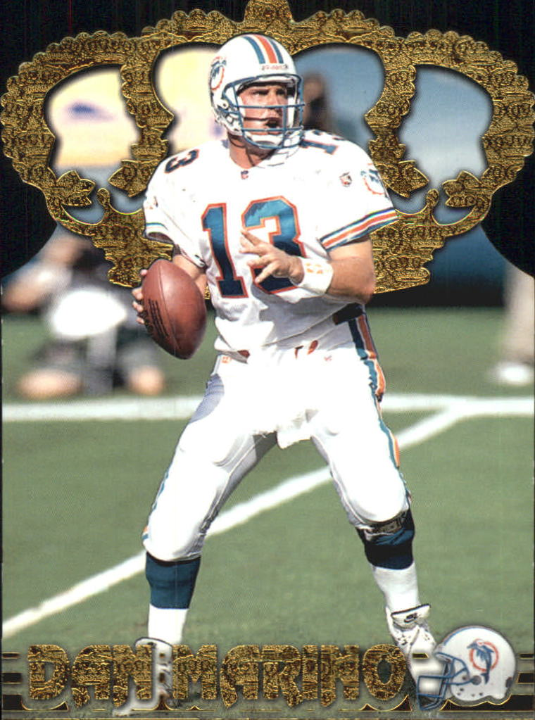 1996 Pacific Gold Crown Die Cuts #10 Dan Marino
