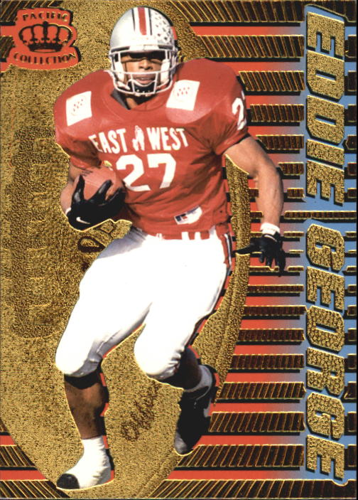 1996 Pacific Dynagon #55 Eddie George RC