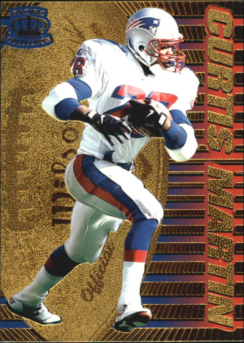 1996 Pacific Dynagon #87 Curtis Martin