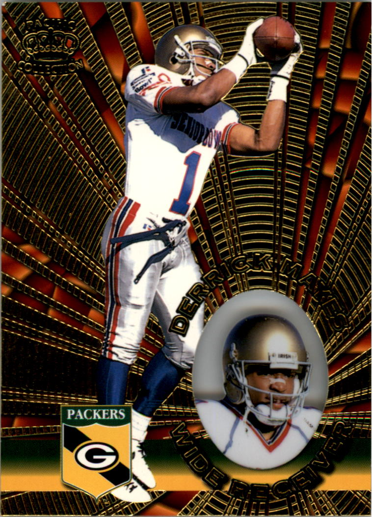1996 Pacific Invincible #54 Derrick Mayes RC