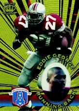 1996 Pacific Invincible #56 Eddie George RC