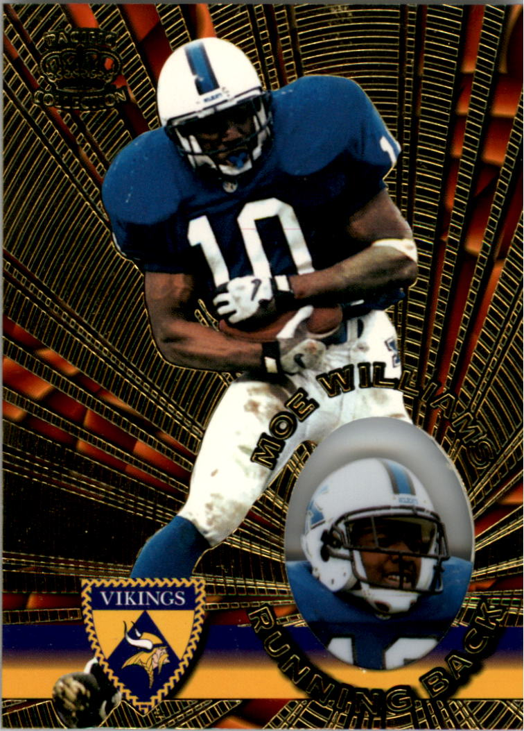 1996 Pacific Invincible #85 Moe Williams RB RC