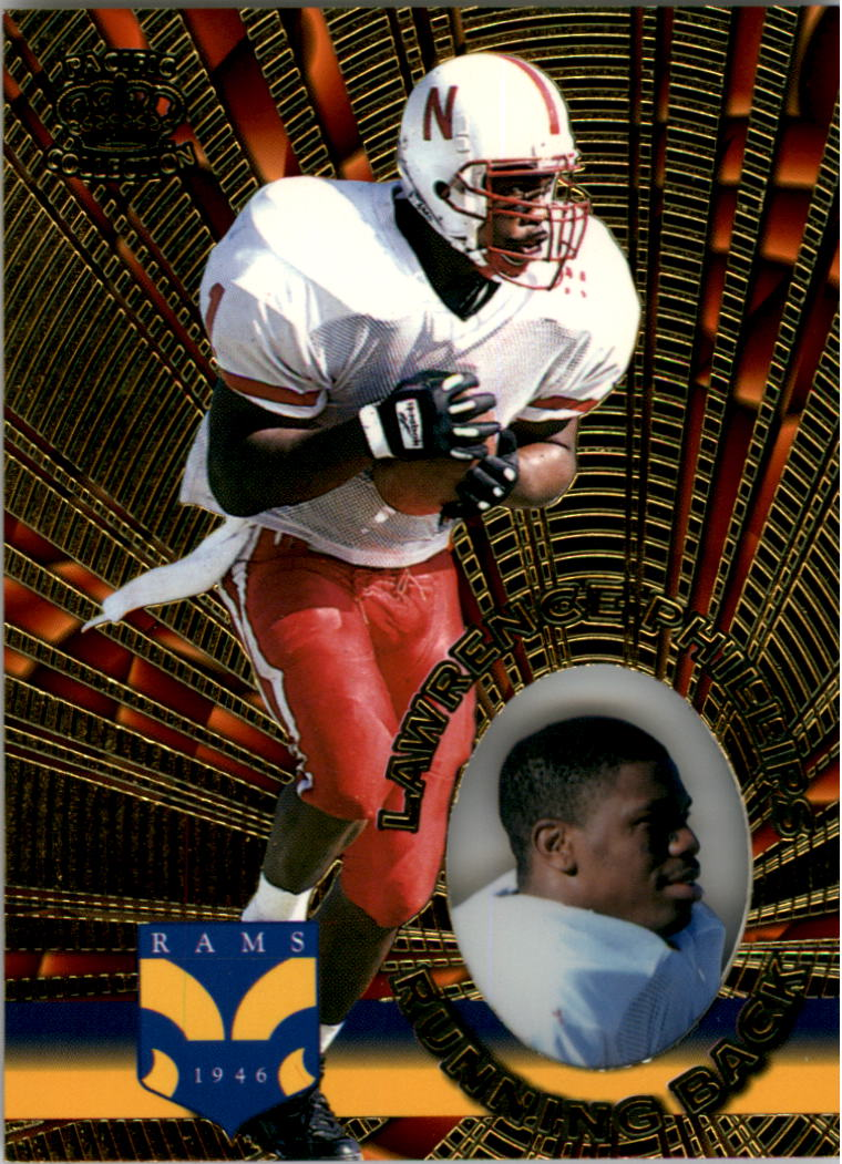 1996 Pacific Invincible #130 Lawrence Phillips RC
