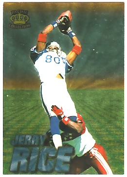 1996 Pacific Invincible Pro Bowl #12 Jerry Rice