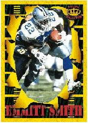 1996 Pacific Invincible Smash Mouth #46 Emmitt Smith