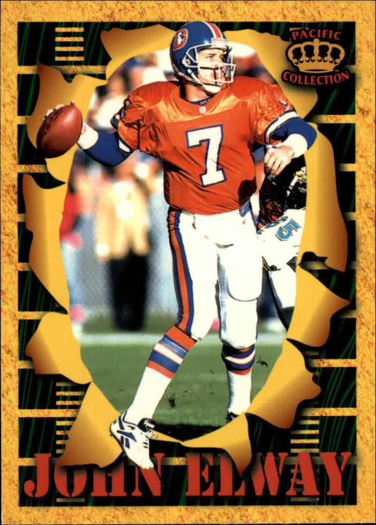 1996 Pacific Invincible Smash Mouth #49 John Elway
