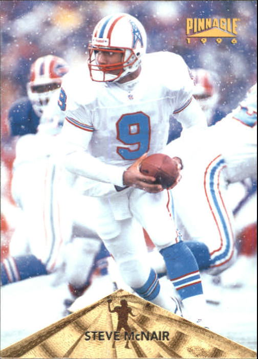 1996 Pinnacle #8 Steve McNair
