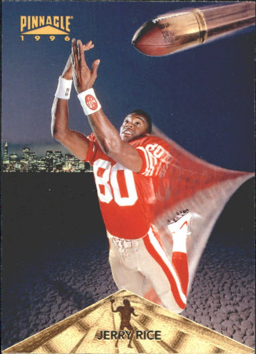 1996 Pinnacle #25 Jerry Rice