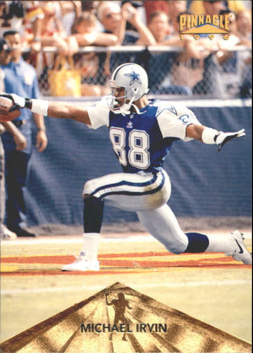 1996 Pinnacle #27 Michael Irvin