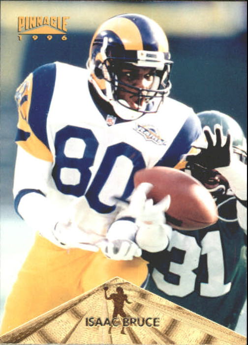 1996 Pinnacle #48 Isaac Bruce