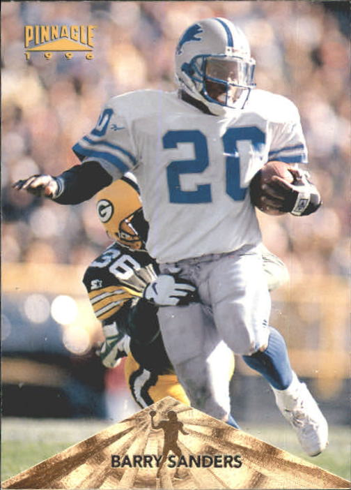 1996 Pinnacle #131 Barry Sanders