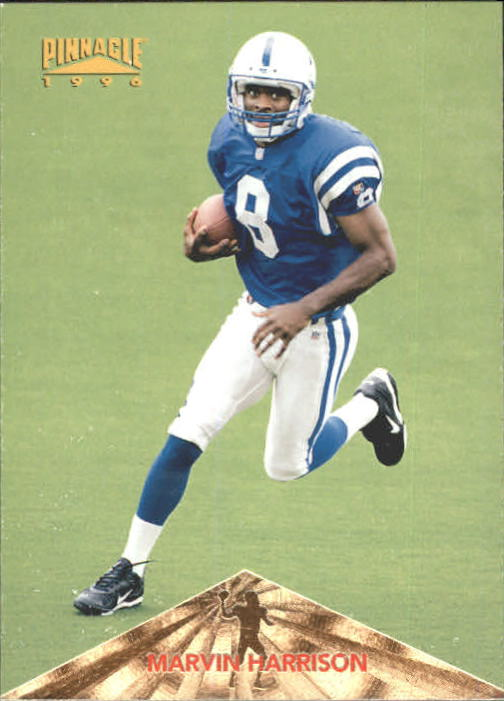 1996 Pinnacle #166 Marvin Harrison RC