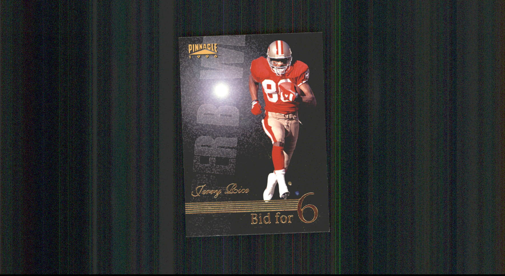 1996 Pinnacle #190 Jerry Rice BF6