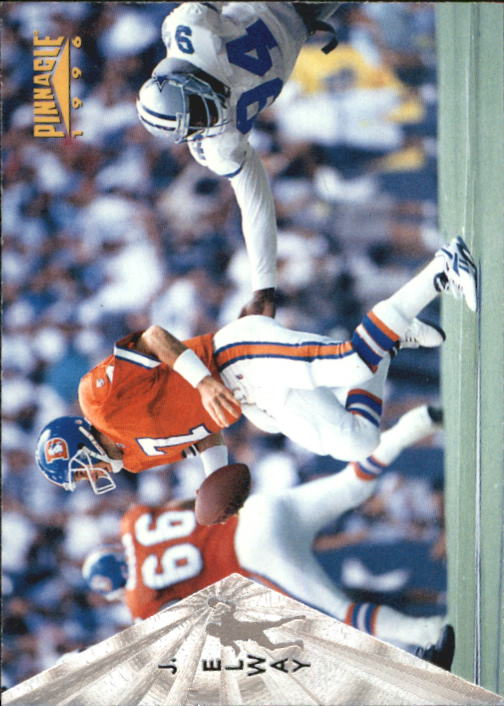 1996 Pinnacle Premium Stock Silver #67 John Elway