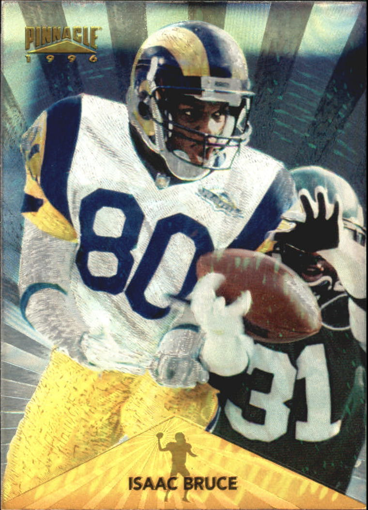 1996 Pinnacle Trophy Collection #48 Isaac Bruce