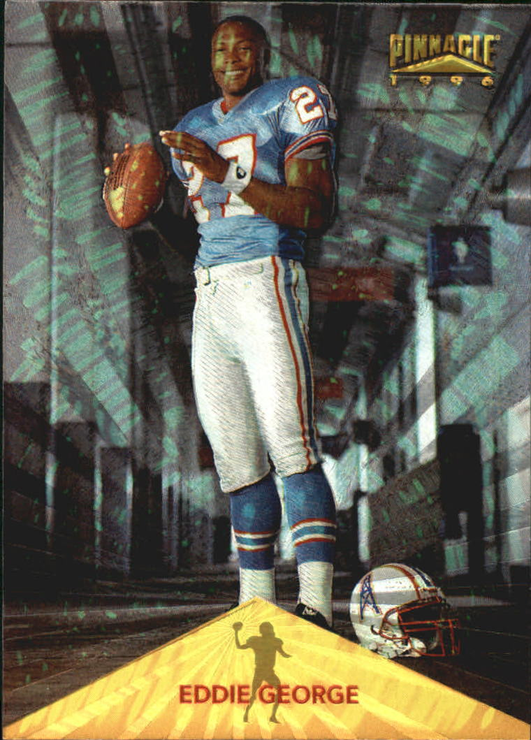 1996 Pinnacle Trophy Collection #170 Eddie George