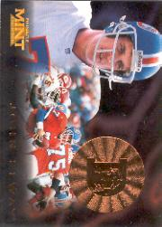 1996 Pinnacle Mint Bronze #2 John Elway