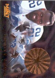 1996 Pinnacle Mint Bronze #15 Emmitt Smith