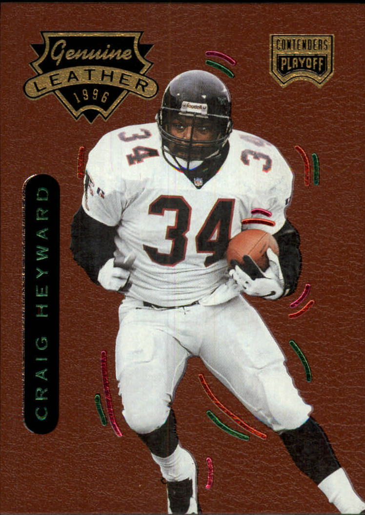 1996 Playoff Contenders Leather #19 Craig Heyward G
