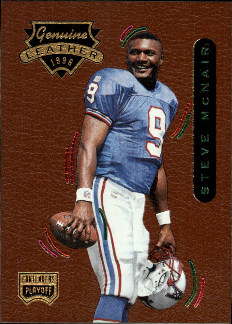 1996 Playoff Contenders Leather #44 Steve McNair G