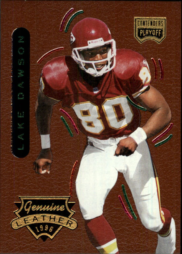 1996 Playoff Contenders Leather #47 Lake Dawson G