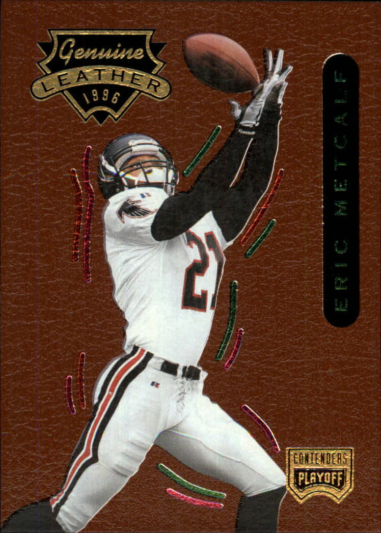 1996 Playoff Contenders Leather #50 Eric Metcalf G