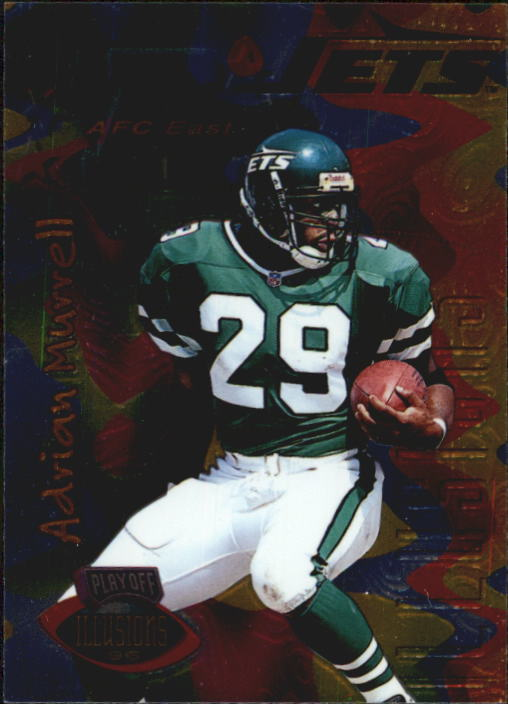 1996 Playoff Illusions #23 Adrian Murrell