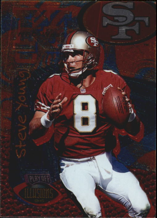 1996 Playoff Illusions #28 Steve Young
