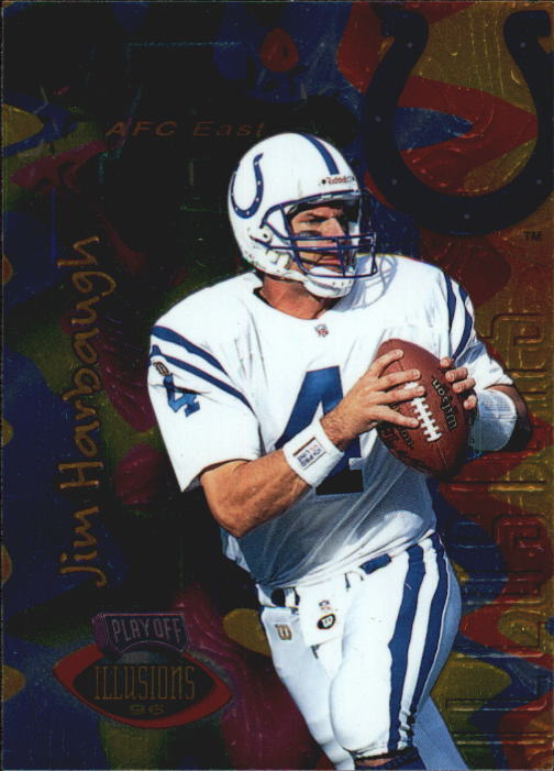 1996 Playoff Illusions #30 Jim Harbaugh