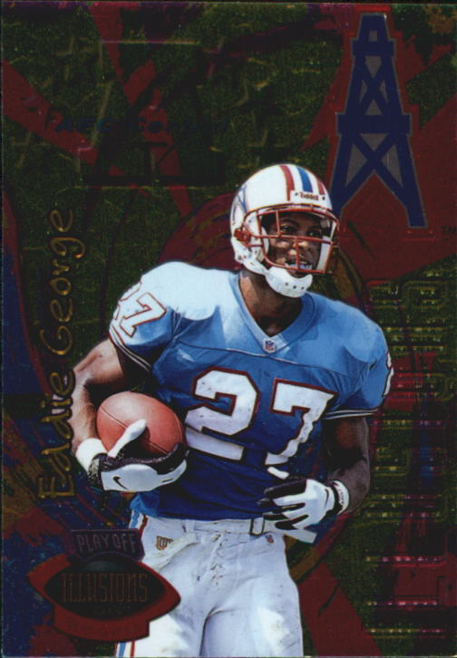 1996 Playoff Illusions #65 Eddie George RC