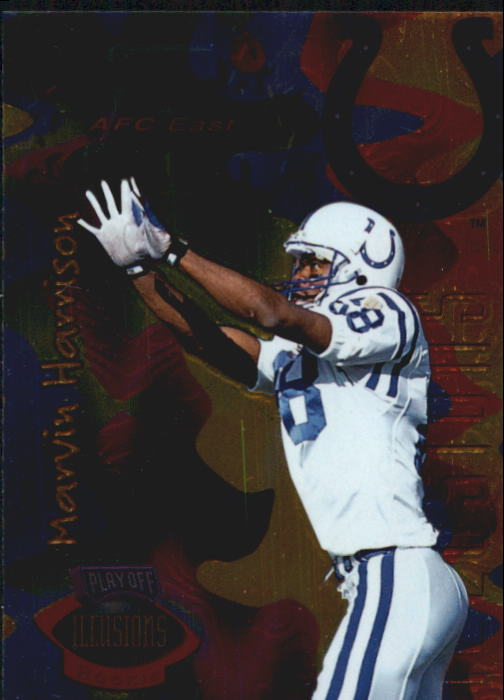 1996 Playoff Illusions #66 Marvin Harrison RC