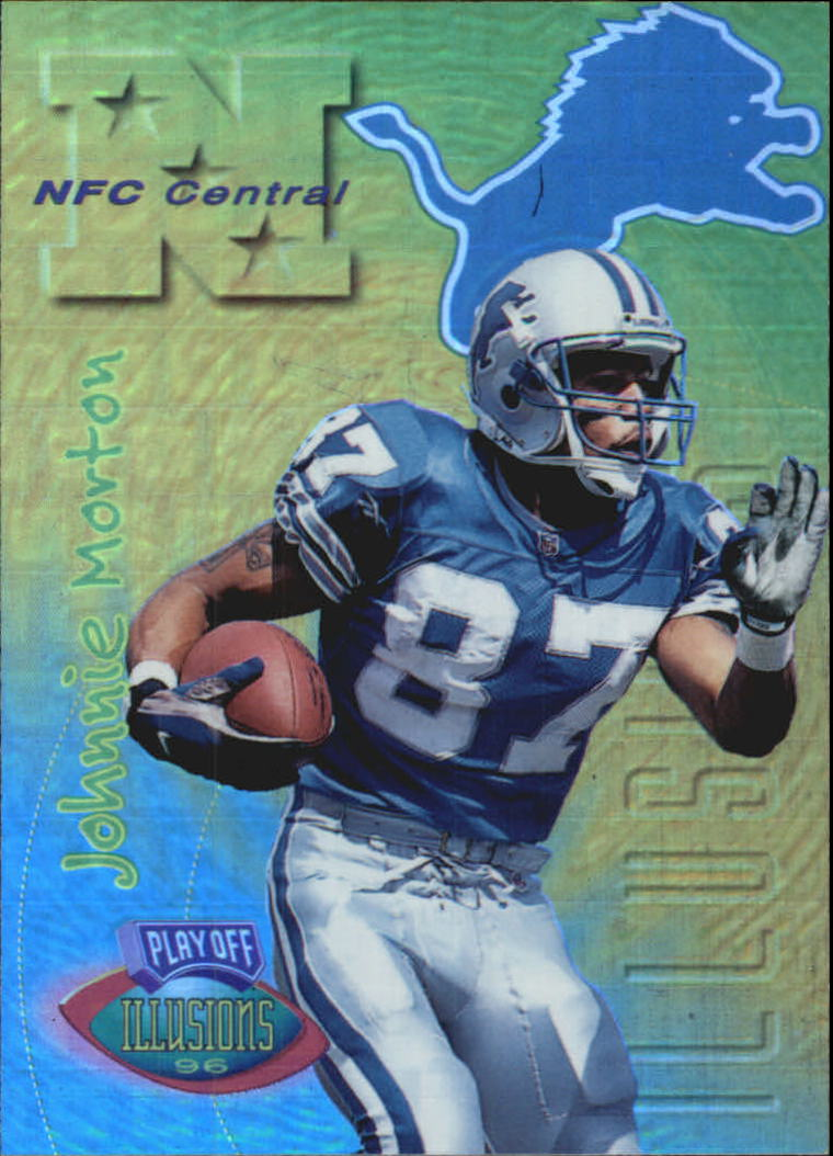 1996 Playoff Illusions Spectralusion Elite #56 Johnnie Morton