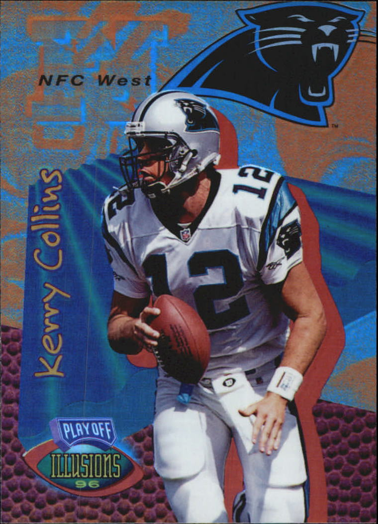 1996 Playoff Illusions Spectralusion Elite #97 Kerry Collins