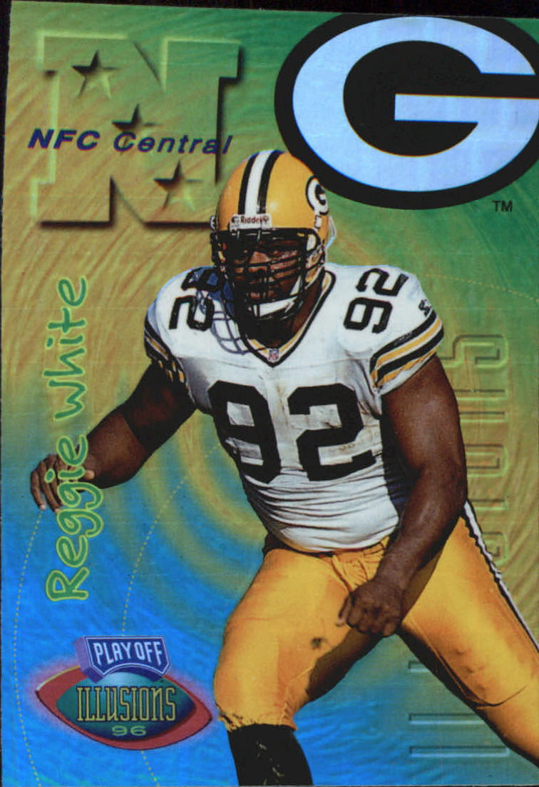 1996 Playoff Illusions Spectralusion Elite #120 Reggie White