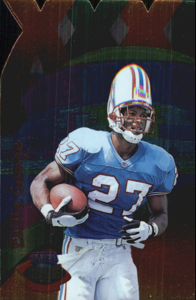 1996 Playoff Illusions XXXI #65 Eddie George