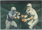 1996 Playoff Illusions Optical Illusions #2 T.Aikman/B.Sanders
