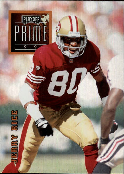 1996 Playoff Prime #2 Jerry Rice