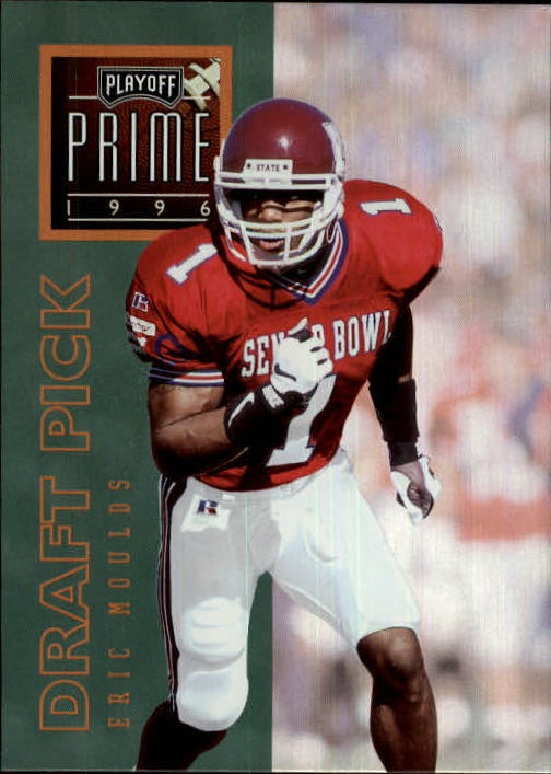 1996 Playoff Prime #66 Eric Moulds RC