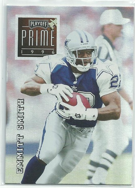1996 Playoff Prime #111 Emmitt Smith