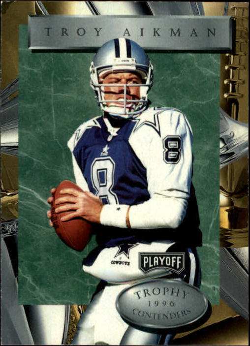 1996 Playoff Trophy Contenders #2 Troy Aikman