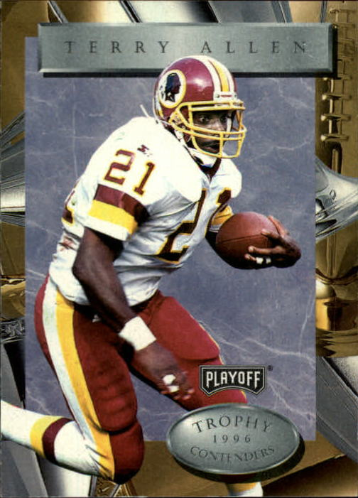 1996 Playoff Trophy Contenders #62 Terry Allen