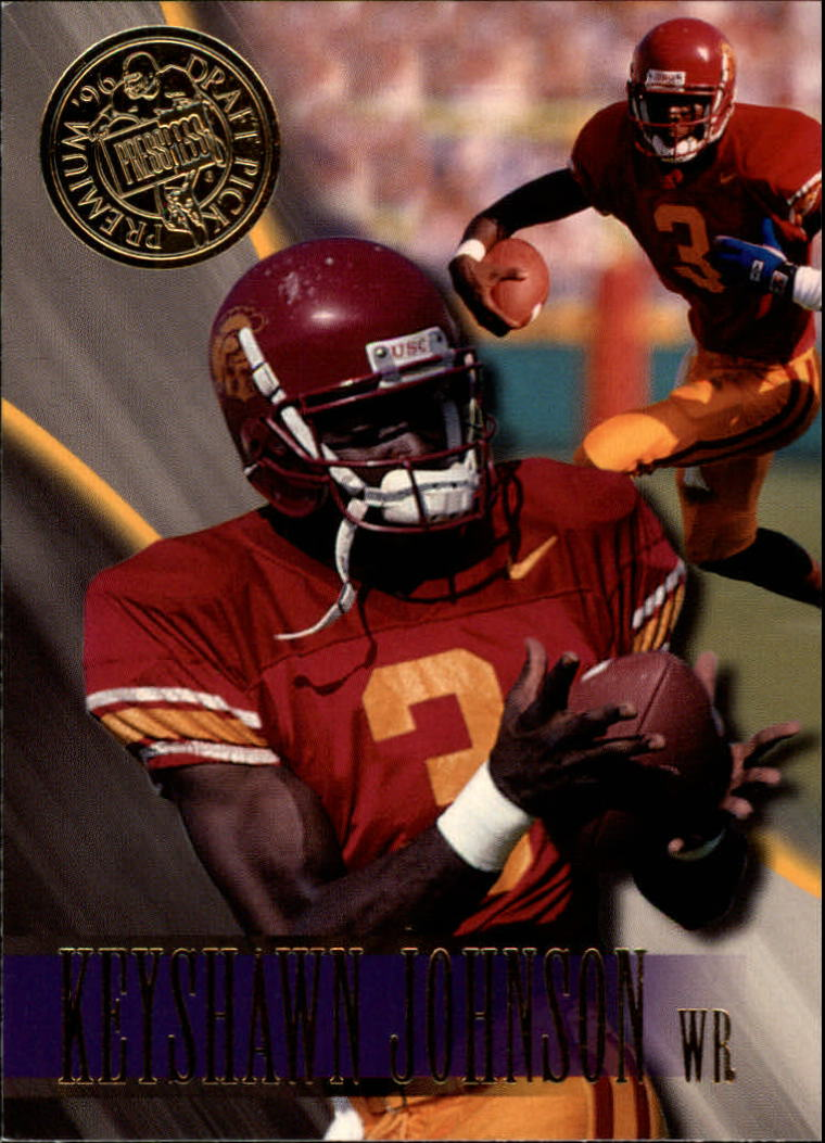 1996 Press Pass #1 Keyshawn Johnson