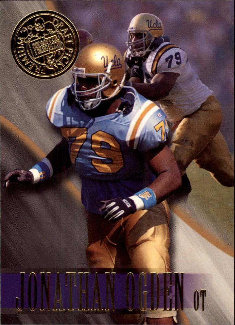 1996 Press Pass #2 Jonathan Ogden